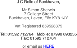 J C Rollo of Buckhaven,